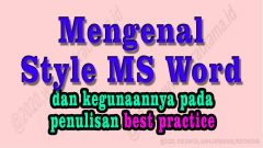 style msword