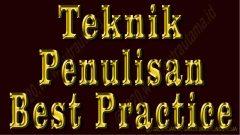penulisan best practice